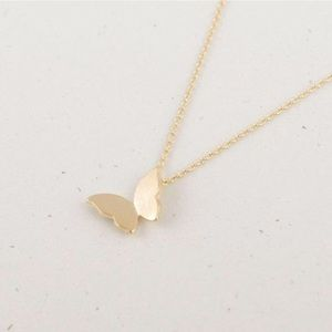 Jewelry - Dainty gold butterfly necklace new